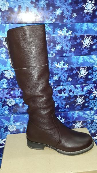 Женские кожаные зимние сапоги. Днепропетровск