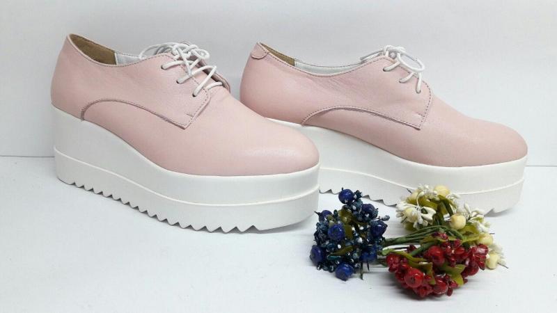 Туфли Stella McCartney из натуральной кожи. Украина
