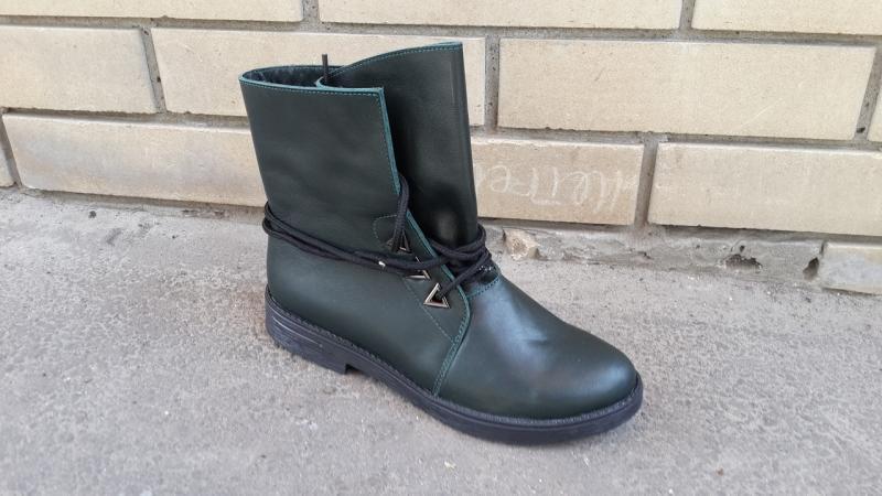 Кожаные демисезонные ботинки! Украина
