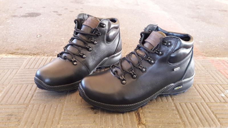 Зимние мужские кожаные ботинки на меху. Харьков