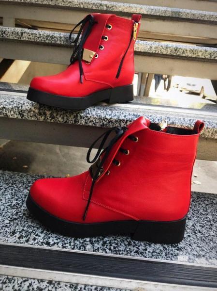 Демисезонные кожаные ботиночки Zippi. Украина.