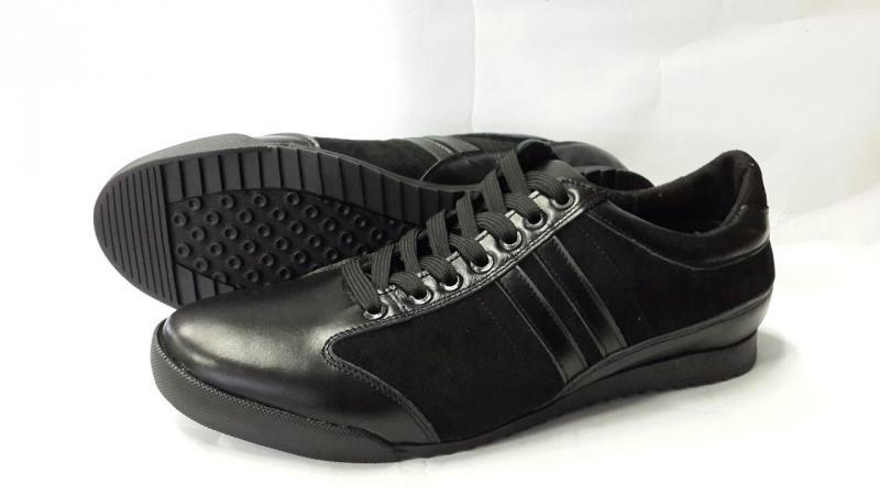 Мужские кожаные кроссовки. Украина
