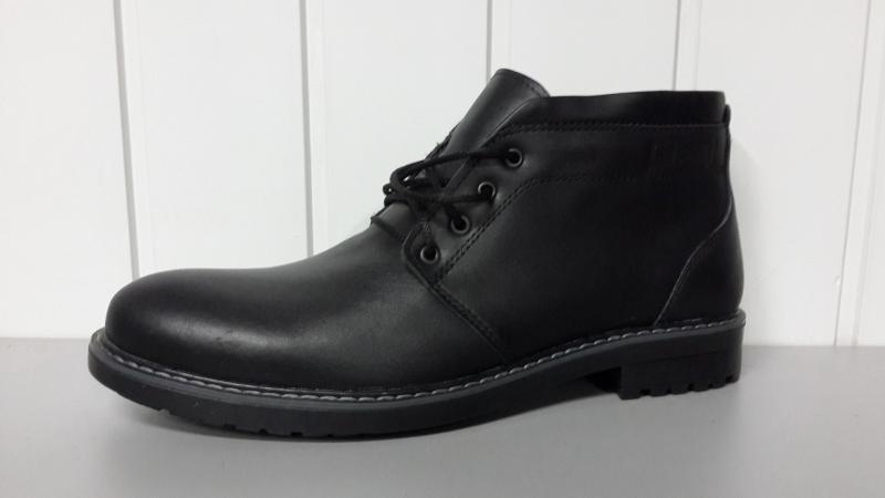 Зимние мужские кожаные ботинки. Харьков