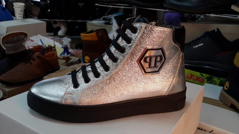 Женские кожаные ботинки P/Plein! Украина