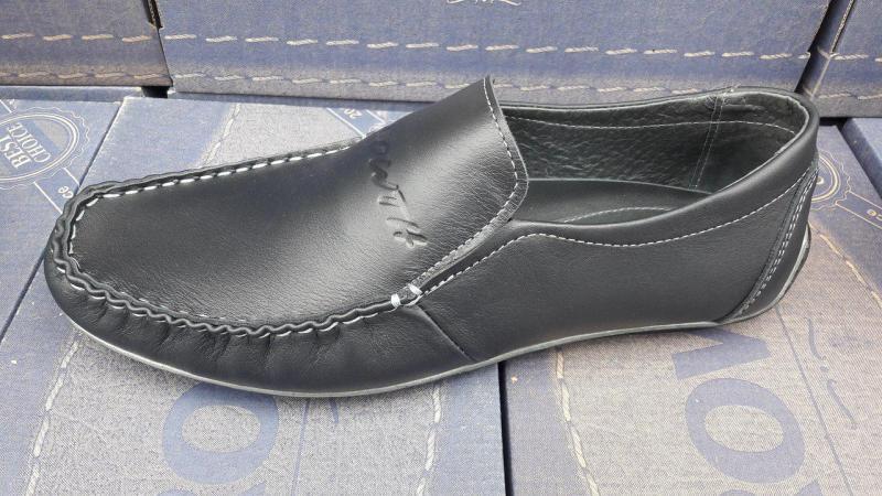 Мужские кожаные мокасины 39-46 рр. Украина
