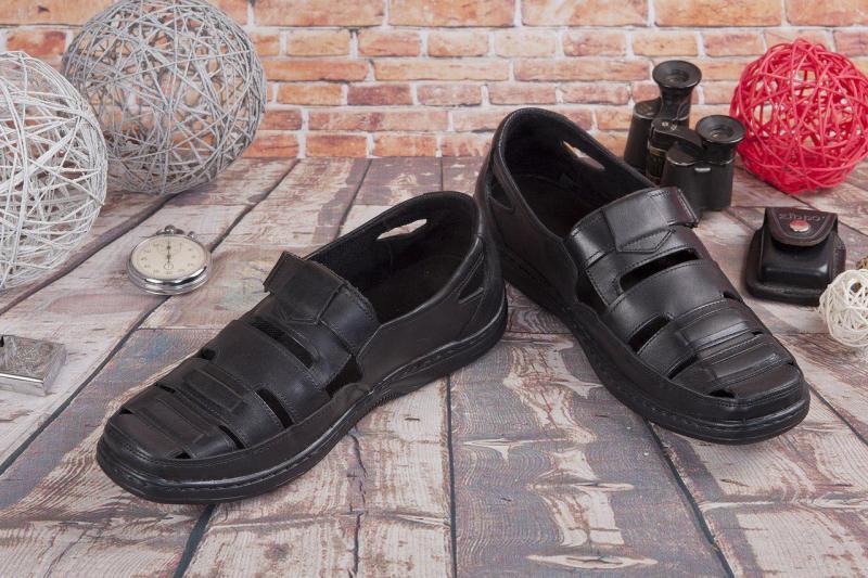 Мужские кожаные сандалии Vikend. Украина