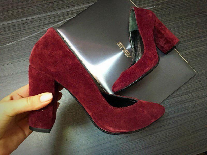 Шикарные женские замшевые туфли Olimpia. Украина