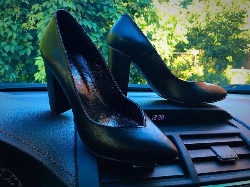 Шикарные женские кожаные туфли Olimpia. Украина