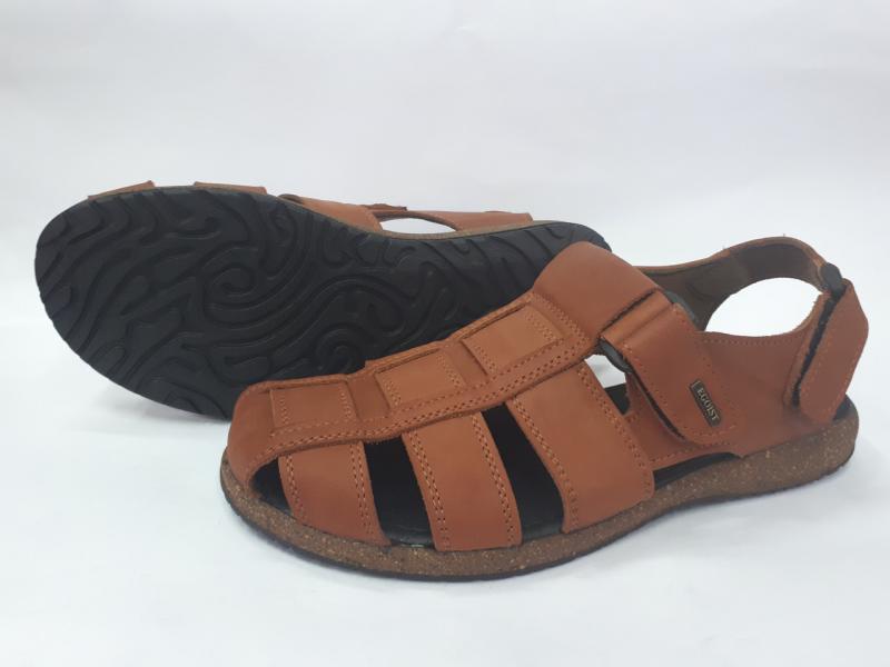 Мужские кожаные сандалии. Украина