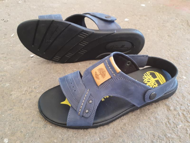 Мужские сандалии-трансформер кожаные Timberland. Украина