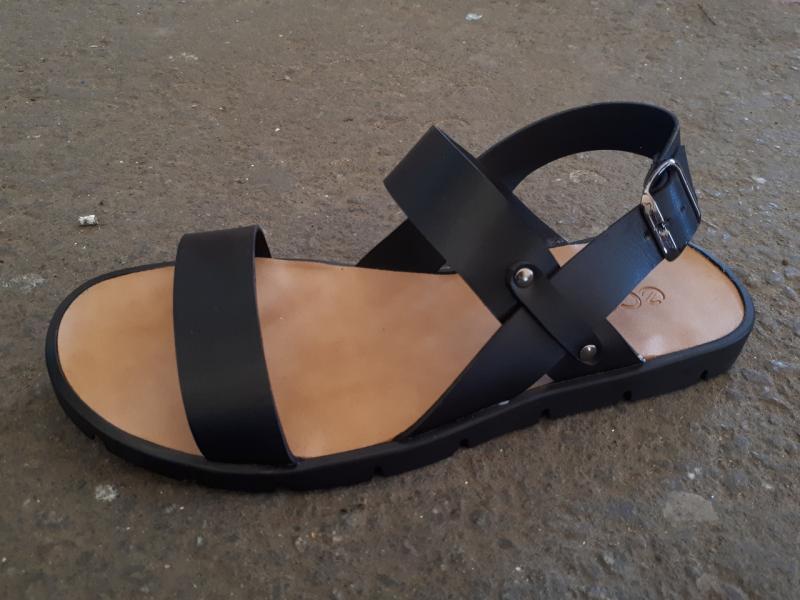 Мужские сандалии из натуральной кожи Ecco. Украина