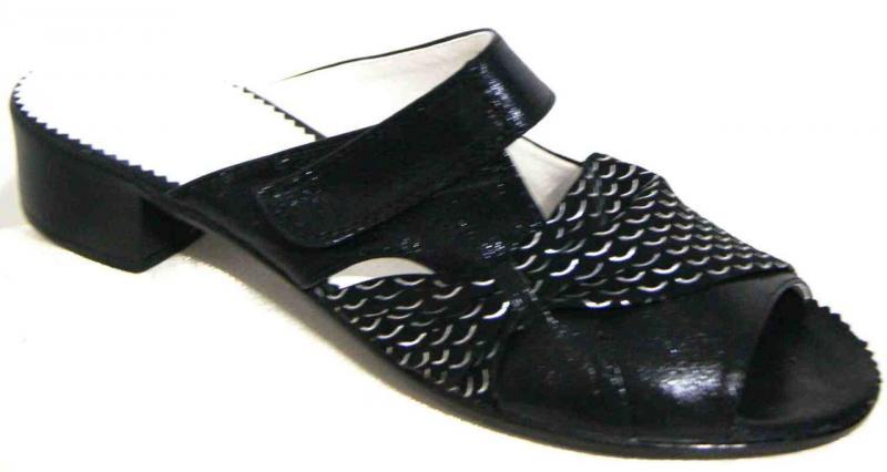 Женские кожаные шлепки больших размеров 36-43рр. Украина