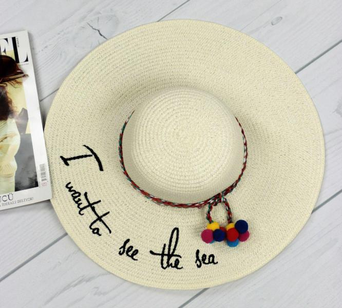 Женская соломенная шляпа.