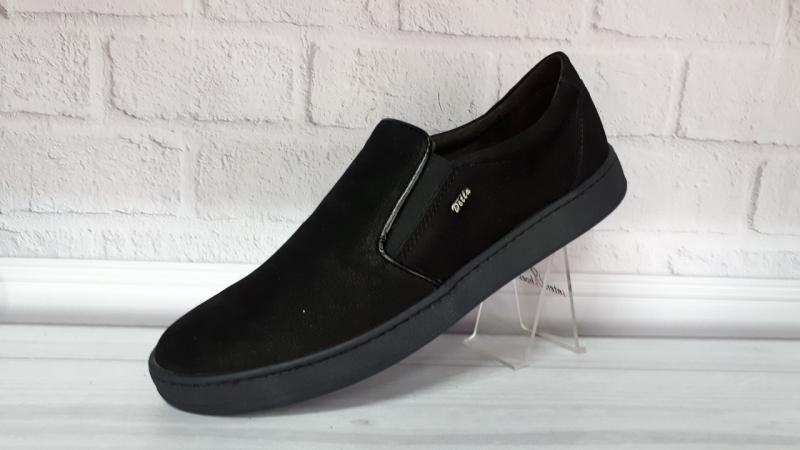 Мужские туфли из нубука Detta. Турция