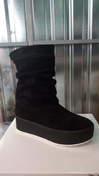 Женские замшевые осенне-весенние ботинки! Украина