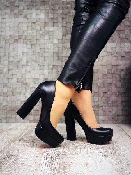 Шикарные кожаные туфли Lux Fashion. Украина