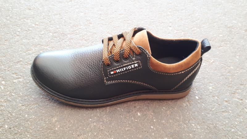 Кожаные туфли на мальчика Tommy Hilfiger. Украина