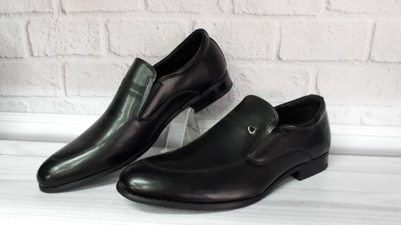 Мужские кожаные туфли. Турция