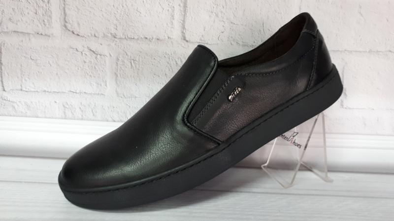 Мужские туфли из натуральной кожи Detta. Турция