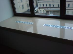 Фото Подоконники из искусственного камня от производителя на заказ в Гродно Подоконники из искусственного камня на заказ под ключ в Гродно.