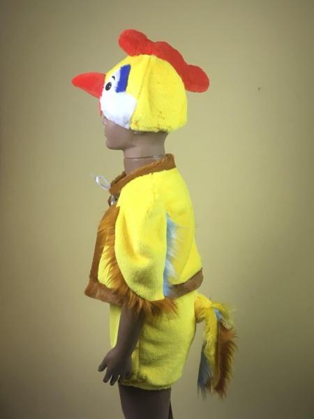 Детский карнавальный новогодний   костюм Петушок Петух 6-8 лет