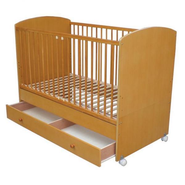 Кровать деревянная F-10 светлая
