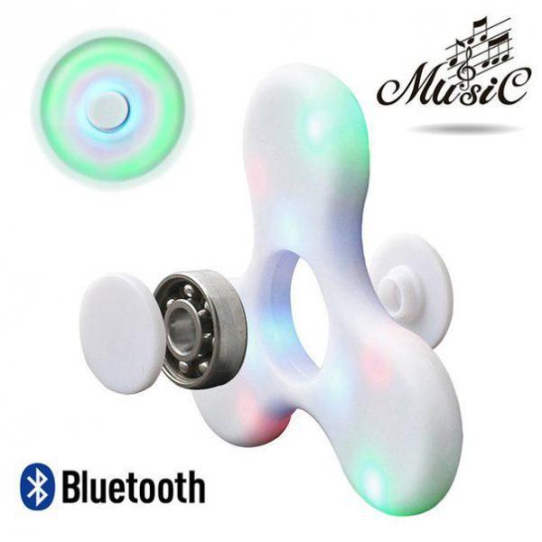 Детский Bluetooth спиннер с LED и музыкой