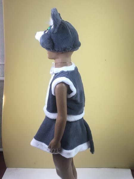 Детский карнавальный новогодний костюм Мышка 3-5 лет
