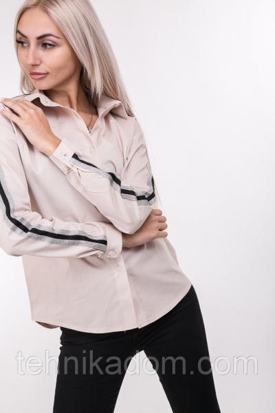 Рубашка 88830 (св.персиковый)