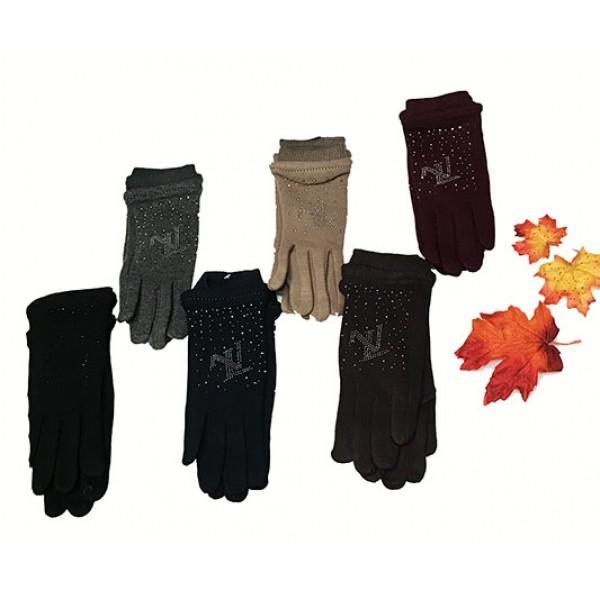 Женские перчатки Boxing Артикул Ok-055 №1 в ассортименте цена за упаковку