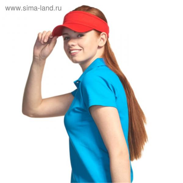 Козырёк StanVisor, one size, цвет красный