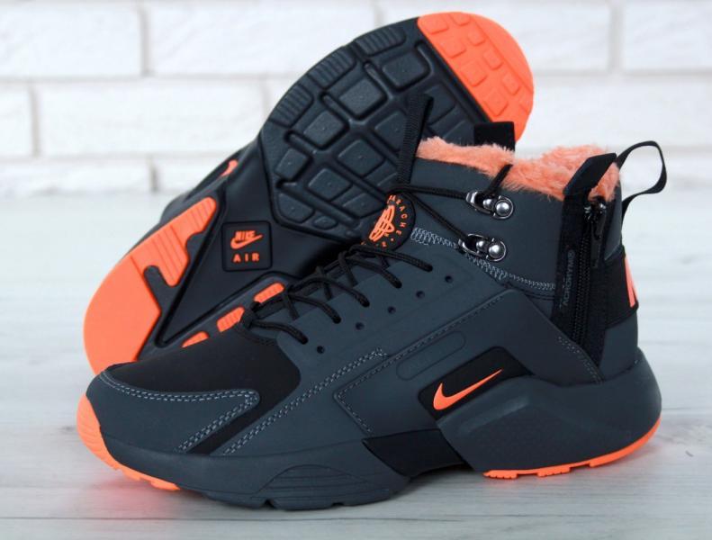 Фото  Nike Huarache X Acronym City Winter Black Orange (41-45)