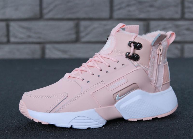 Фото  Nike Huarache X Acronym City Winter Pink (36-40)