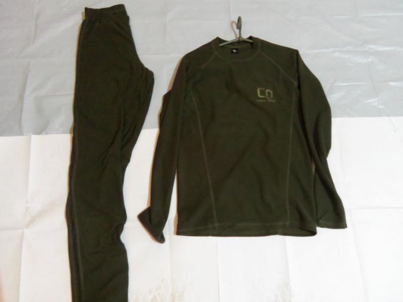 Фото Военная, охотничья, рыбацкая униформа., Термобельё. Термобельё зеленое Carpe diem микрофибра.