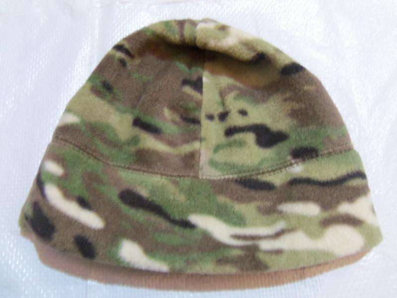 Фото Военная, охотничья, рыбацкая униформа., Шапки. Шапка зима вязаная, флис.