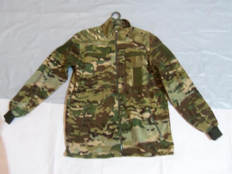 Фото Военная, охотничья, рыбацкая униформа., Кофты, свитера. Кофта на флисе, змейка. Мультикам, Порох.