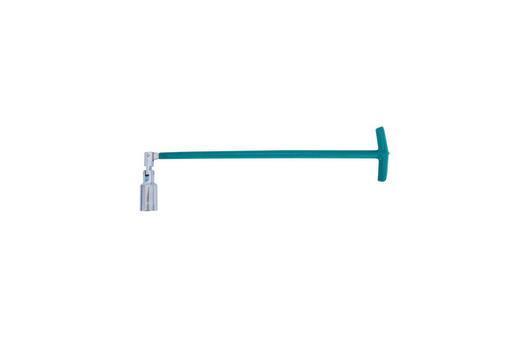 Свечной ключ Т-образный с шарниром Intertool - 21 x 500 мм