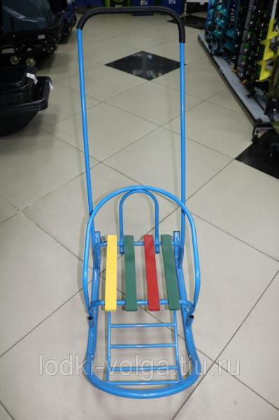 Санки детские Снегирек-4 с колесом