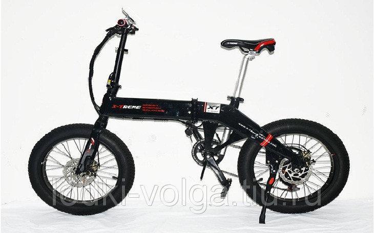 Электровелосипед X-TREME E-BIKE Раскладной FATBIKE 20ALFAT (7 скор., аккум 48 V 11.6 AH,500 W)