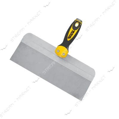 Шпатель MASTERTOOL 19-5325 ударный Al-Profi TPR ручка 250*85мм