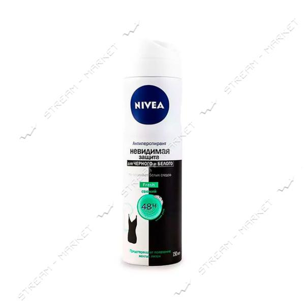 Дезодорант-антиперспирант Nivea Fresh Невидимая защита 150мл