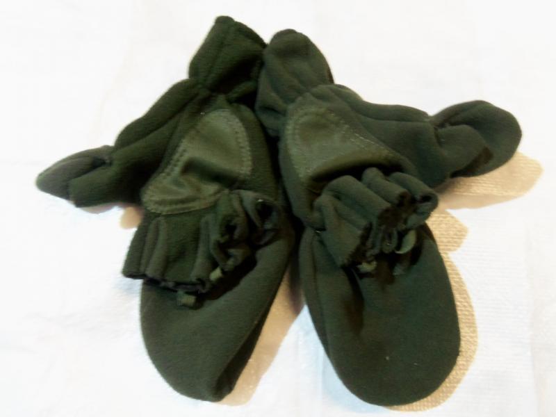 Фото Военная, охотничья, рыбацкая униформа., Перчатки, рукавицы. Перчатка-рукавица без пальца (Олива)