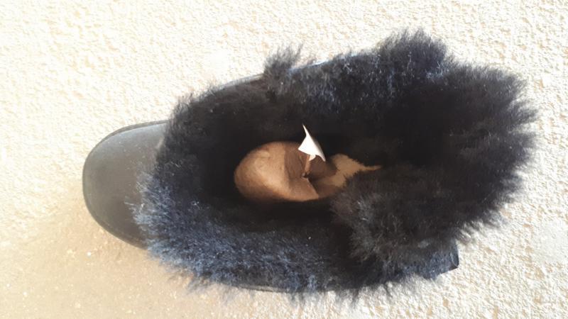 Фото Женская обувь, Зима, Угги, унты Натуральные UGG Australia черные бантик. Украина