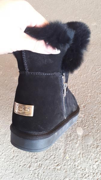 Фото Женская обувь, Зима, Угги, унты Натуральные замшевые UGG Australia со змейкой. Украина