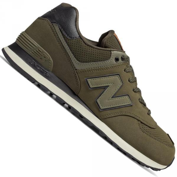New Balance 574 Herren-Sneaker Olive/Kaki