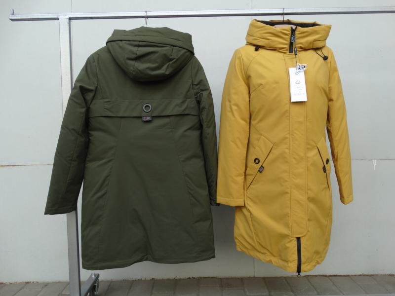 Куртка женская зимняя MEAJIATEER Горчица, XL