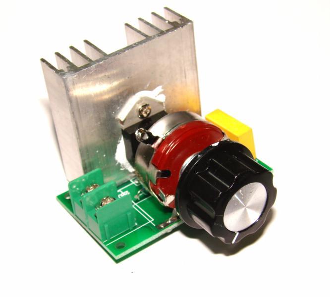Фазовый регулятор мощности 4000W 220V 4 КВт 220В