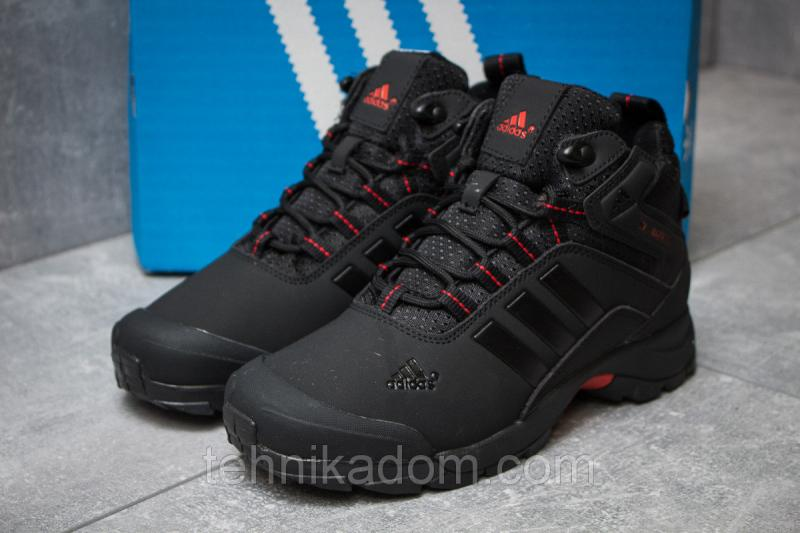 Зимние кроссовки Adidas Climaproof, черные (30001),  [  38 (последняя пара)  ]