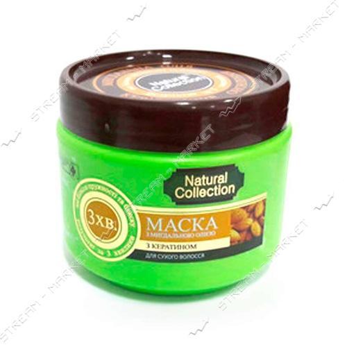 Маска для волос PIRANA Natural Collection Миндальное масло 500 мл