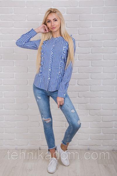 Блуза 60360 (синий)